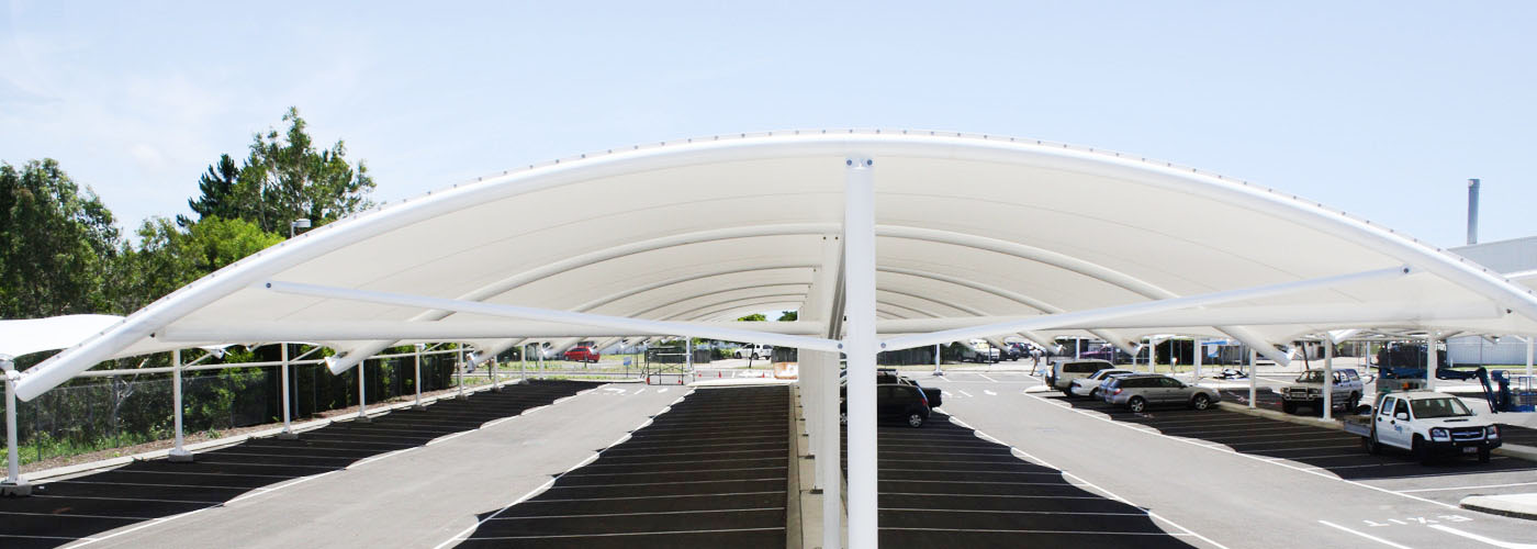 tensile parking structures manufacturer